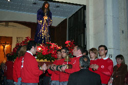 Voluntarios de Cruz Roja
