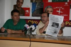 Manuel Carrasco durante la rueda de prensa