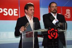 Rueda de prensa del PSOE de Águilas