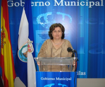 Ana-María-Miñarro,-edil-de-Sanidad,Servicios-Sociales,-Tercera-Edad-y-Consumo