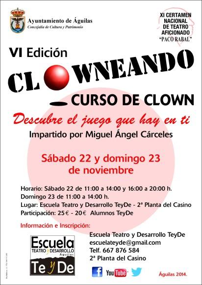 CARTEL CLOWNEANDO 2014