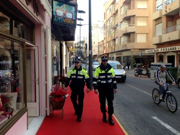 DISPOSITIVO POLICÍA LOCAL NAVIDAD