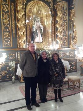 Lázaro Soto, Carmina Aguirre y Mª José Ruiz