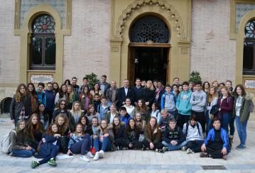 VISITA ESTUDIANTES INGLESES IES EUROPA