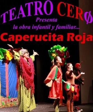 Cartel caperucita roja. Teatro Cero