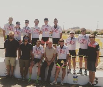 Bike Maraton Ciudad de Aguilas y Campeonato Regional Para Ismael Sanchez y Cecilia Sope_a