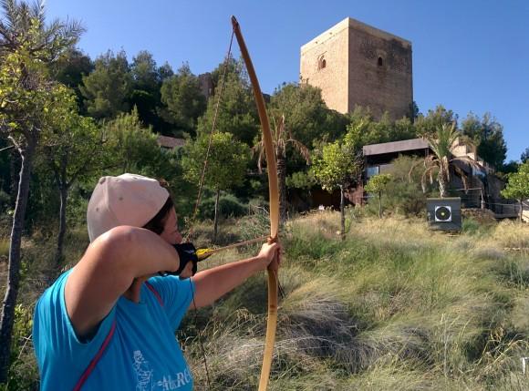 Territorial tiro arco Campo Castillo Lorca 04.09.2016. Arqueros soltando flechas 17