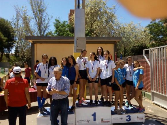 Ramon Arcas campeón por equipos cadete femenina
