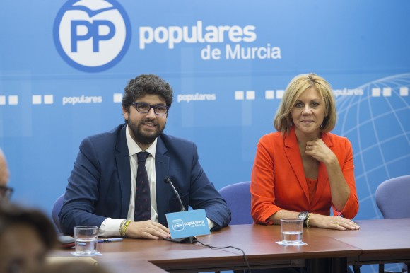 2017.09.29 foto Cospedal. Comité Ejecuitvo PP Región Murcia-min