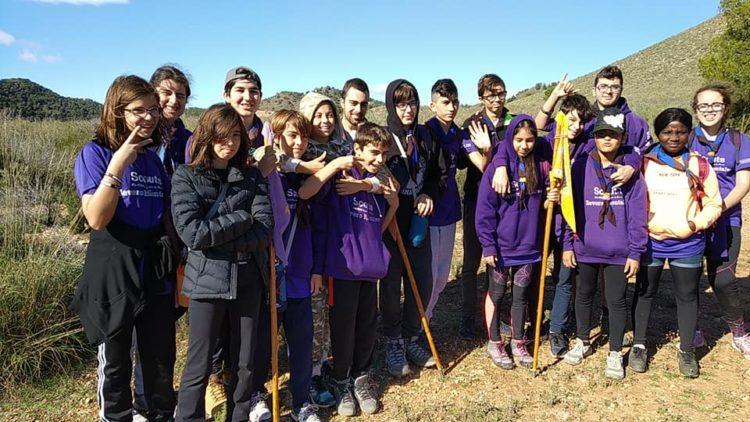 Los scout de Severo Montalvo se van de acampada para dar inicio a la Ronda Solar - La Actualidad de Águilas